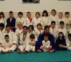 Cantera de judocas en Tudela