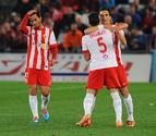 El Almería sale del descenso en un partido loco