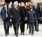 Los Reyes presidirán este lunes en Madrid el funeral de Adolfo Suárez