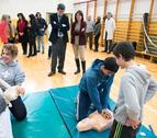 Los escolares navarros aprenderán primeros auxilios y reanimación