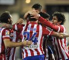 El Atlético sufre para mantener el liderato