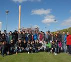 Estudiantes italianos visitan la planta de Rockwool en Caparroso