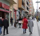 La actividad comercial de Navarra decrece un 2,4% en diciembre