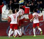 El Almería consigue sumar un punto valioso