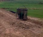 La rotura del Canal de Tauste deja sin riego a 3 localidades