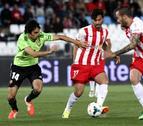 La afición elige a Alejandro Arribas como el mejor contra el Almería