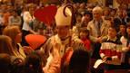 Calurosa acogida de Peralta al arzobispo de Pamplona