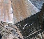 Un sistema anti-palomas ahuyentará la plaga de la iglesia de San Saturnino