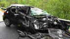 Herida grave una joven de Urdiáin en un accidente en la N-121-A