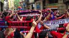El 'rojillo' toma las calles de Barcelona