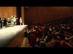 La OSN y cientos de alumnos crean música juntos en Baluarte