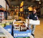 La pobreza energética condiciona los productos del Banco de Alimentos