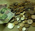 Los españoles conservan pesetas por valor de 1.602 millones de euros
