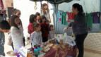 Fontellas recauda cerca de 900 € para la niña Alexia