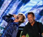 Springsteen se suma a la fiesta de los Rolling en Lisboa