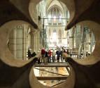La catedral de Vitoria se reabre al culto después de 20 años cerrada
