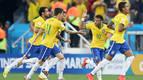 Un penalti dudoso y Neymar dan la primera victoria a Brasil