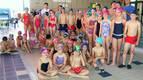 Castejón reúne a 60 niños en el VII Encuentro de Natación Intercentros
