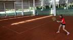 El club El Cerro de Fontellas inaugura dos pistas cubiertas