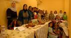 Concurrida jornada multicultural en Larraga
