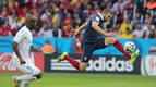 Francia golea a Honduras en su estreno en el Mundial
