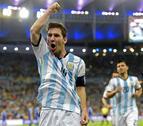 Messi 'reaparece' en Maracaná