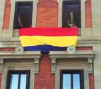 Manifestación en Pamplona por la III República