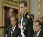 Felipe VI, proclamado Rey de España por las Cortes Generales