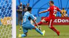 Suiza se clasifica tras golear a Honduras