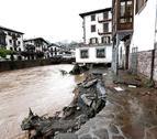 El caudal del río Baztan ha batido su récord desde que existen registros
