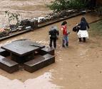 Medio millar de vecinos de Baztan, sin teléfono un par de horas por las tormentas