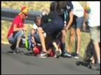 Nairo Quintana se cae en el Moncayo y pierde el liderato