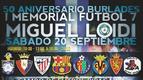 Cartel del I Memorial Miguel Loidi