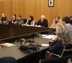 Imagen anterior de una sesión plenaria del Ayuntamiento del valle de Egüés
