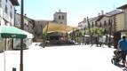 Lakuntza estrena la remodelada Herriko Plaza tras las obras de mejora