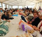 El X Encuentro de Bolilleras reúne a más de 200 personas