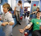 Aumenta la afluencia de donantes de sangre tras la llamada de ADONA