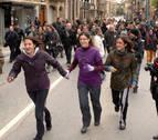 Tafalla y Carcastillo, contra la violencia hacia la mujer