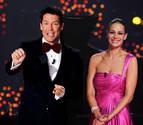 Cantizano y Eva González, en la gala de Nochevieja de TVE