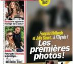 Hollande y Julie Gayet, juntos en el Palacio del Elíseo