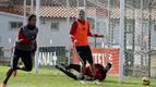 Vujadinovic, seria duda para el partido contra el Valladolid