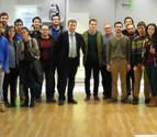 La Cátedra Colegio de Ingenieros Industriales visita BSH en Esquíroz