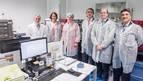 Barcina conoce el plan de inversiones de la empresa 3P Biopharmaceuticals