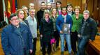 Iván Fandiño recibe el premio 'Triunfador de la feria de Estella'