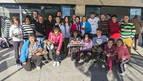 El torneo de Navidad de pádel puso en liza casi a 40 participantes en Ayegui