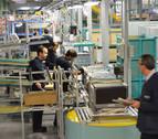 La producción industrial de Navarra desciende un 7,9% en marzo en tasa interanual