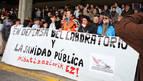 Las protestas por el traslado del laboratorio de Tudela se mantendrán