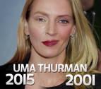 La nueva cara de Uma Thurman desata el humor en Twitter