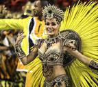 La samba del carnaval ya suena en las calles de Río de Janeiro