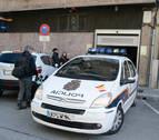 Detenido un menor por varios robos con fuerza en locales de Pamplona